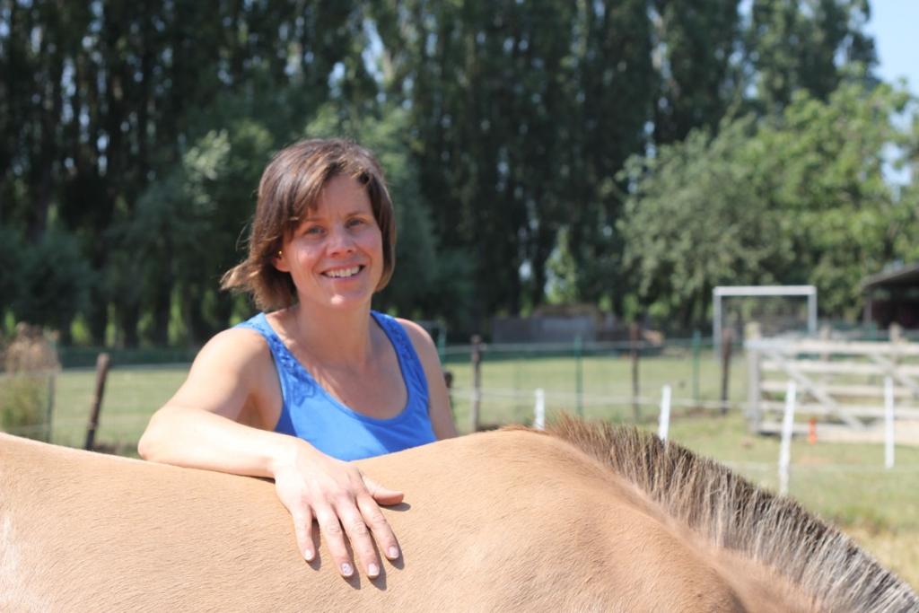 Birgit Tavernier - Hippotherapeute uit Deerlijk